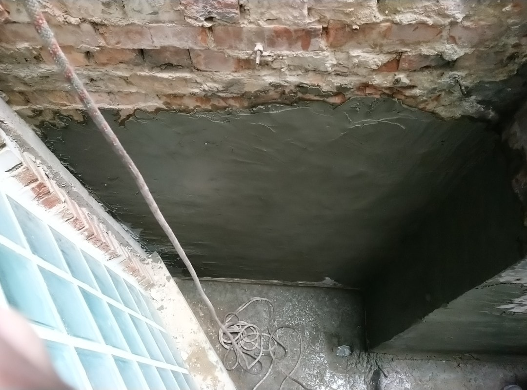 concrete repairs wardour st soho london