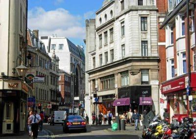 Wardour St, Soho London