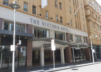 The Victoria Hotel, Little Collins St