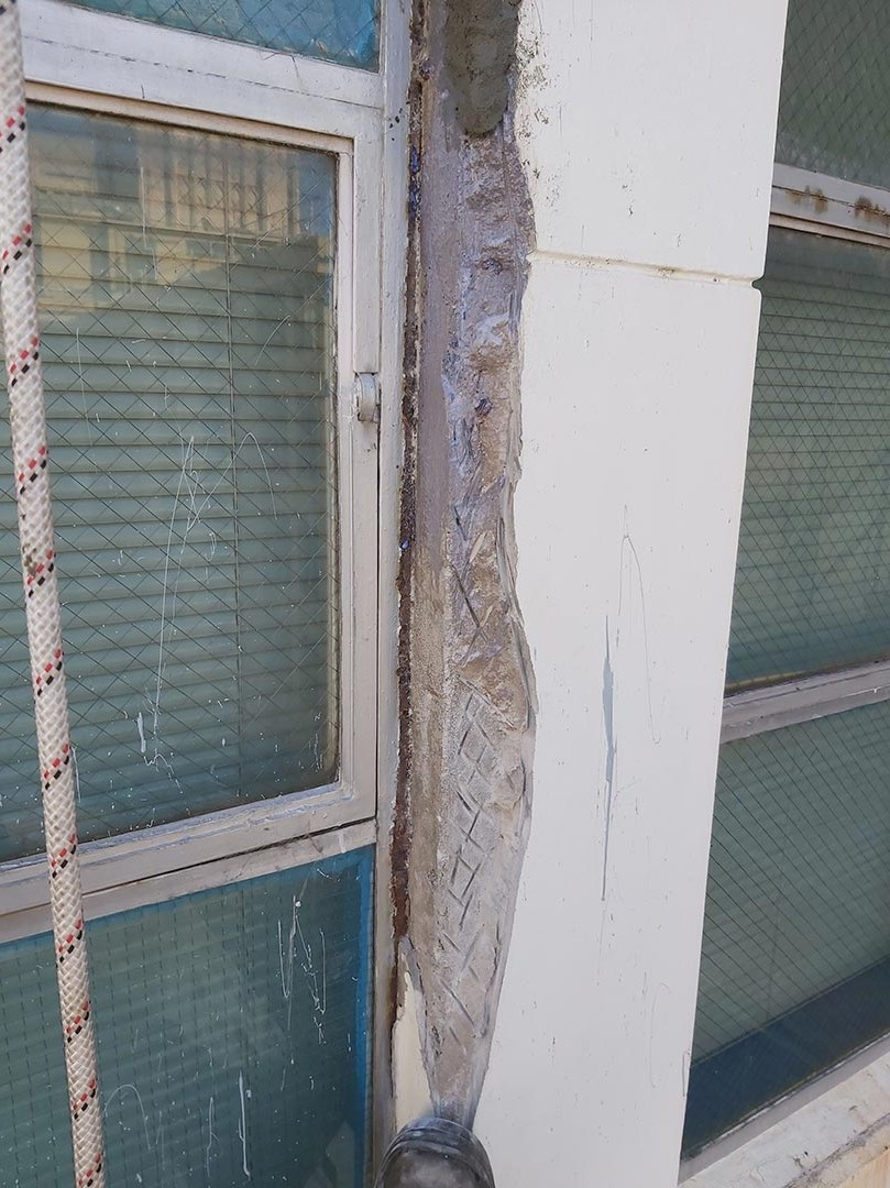 best rope access inspection century building concrete repairs services