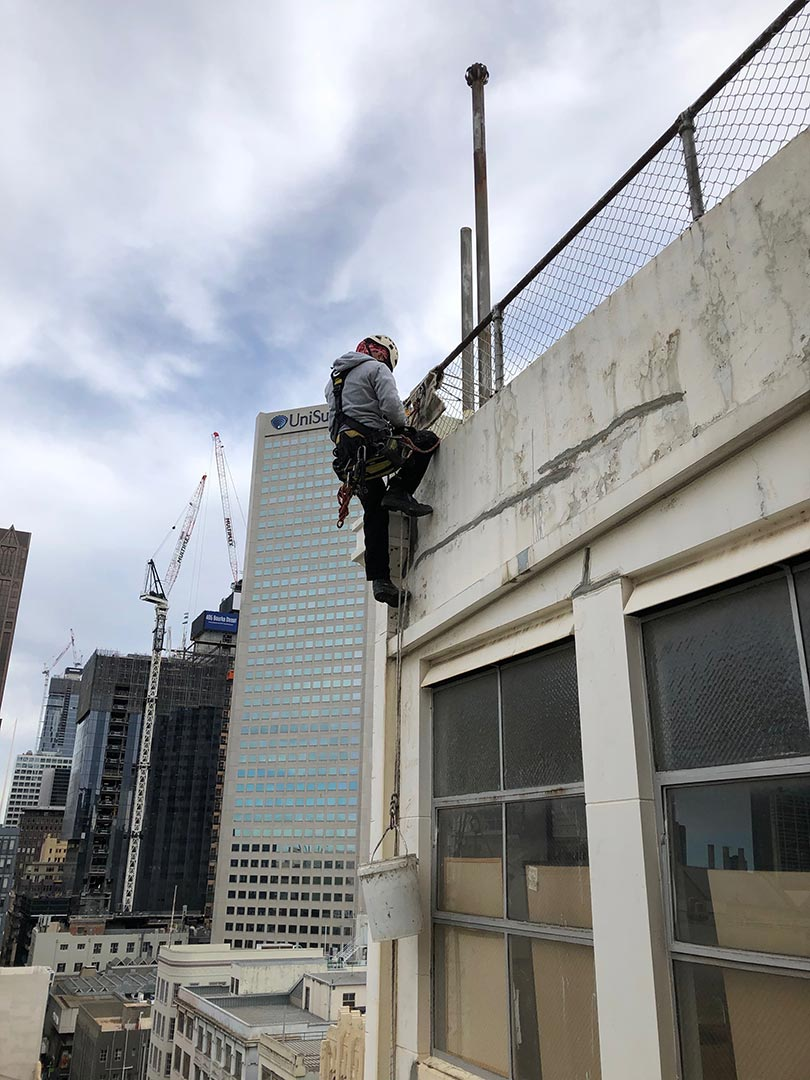 the best concrete repairs services rope access inspection century building