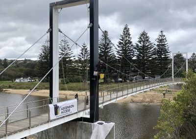 Port Campbell Pedestrian Bridge