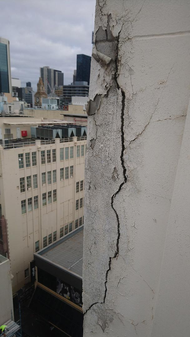 concrete repairs service rope access inspection century building