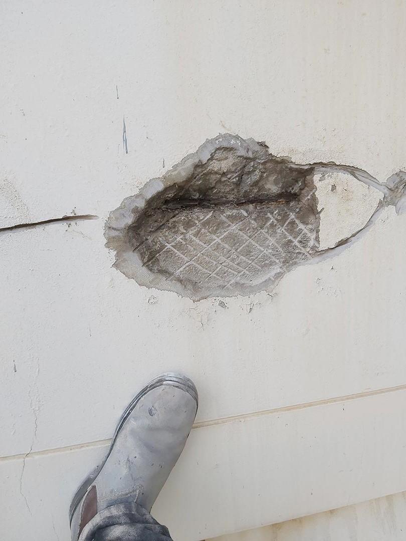 best rope access inspection century building concrete repairs service