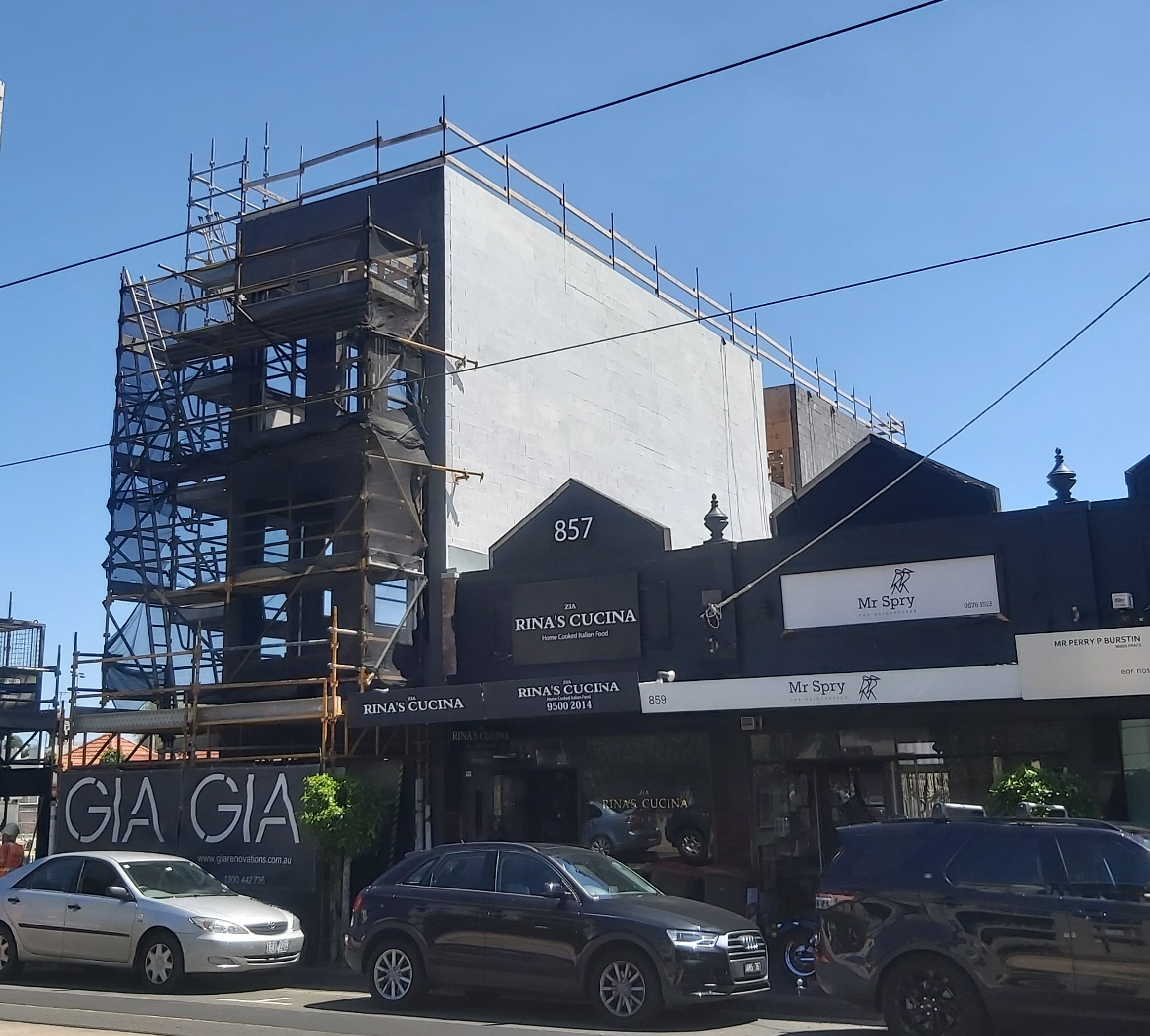 Painting High St Armadale