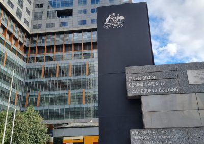 Commonwealth Law Courts Williams St Melbourne